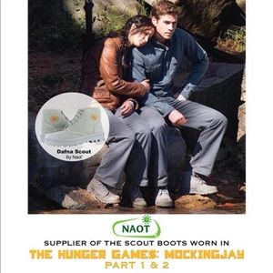 Dafna Noat Scout boot gray Worn in Hunger Games
